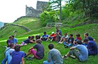 castelbasso castello di alta guardia